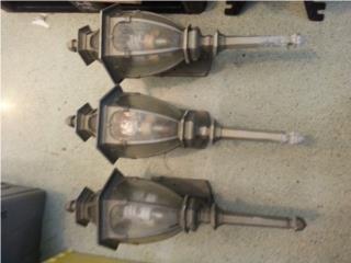 3 lampara de pared , Puerto Rico