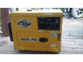 Planta electrica 6700 diesel, Puerto Rico
