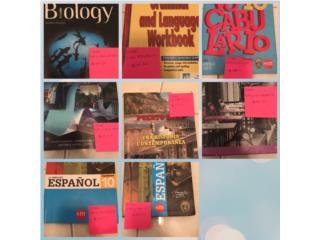 Libros escolares de grado 10, Puerto Rico