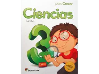 Ciencia para crecer 3er grado , Puerto Rico