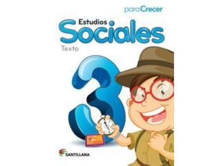 Estudios Sociales para crecer 3er grado , Puerto Rico