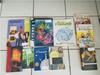 Libros de Octavo Grado, en buen estado, Puerto Rico