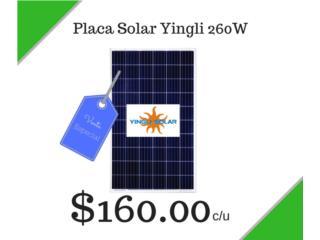 Paneles Solares Yingli 260 Watts , Puerto Rico