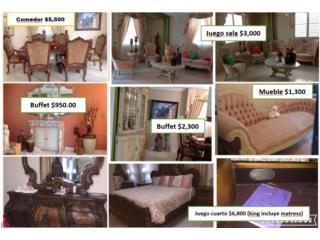Muebles antiguos a la venta., Puerto Rico