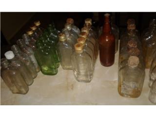 Botellas de ron antiguas , Puerto Rico