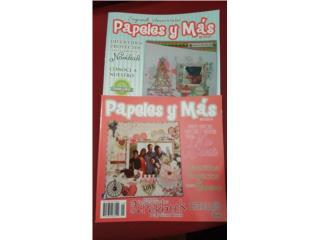 Revista Papeles y Mas para scrapbook, Puerto Rico
