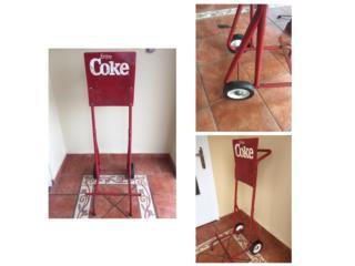 Carro de Coca Cola de los años 60 , Puerto Rico