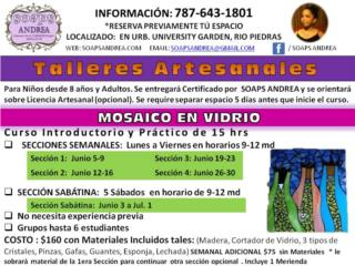 *Talleres Artesanales Mosaico en Cristal , Puerto Rico