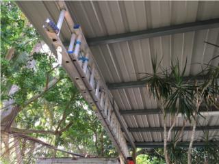 Escalera en aluminio WERNER 40', Puerto Rico