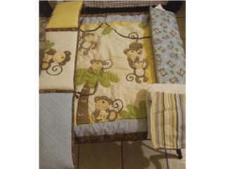 Set Comforter Cama Cuna Casi Sin Uso, Puerto Rico