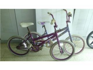 2 Bicicletas de niñas 20
