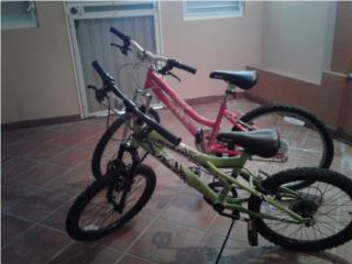 Bicicletas de niña y niña, Puerto Rico