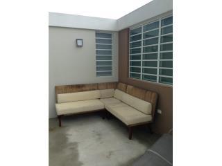 mueble en ratan seccional, Puerto Rico