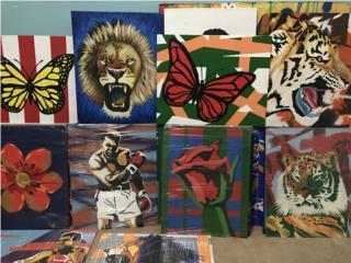 Obras de Arte en Venta desde $20 en adelante, Puerto Rico
