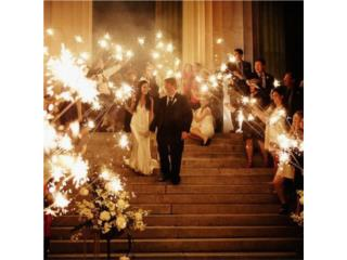 Wedding Sparklers , Puerto Rico