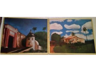 Pinturas de Amaury Díaz, Puerto Rico