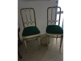 Par de sillas Antiguas, Puerto Rico