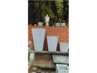 Tiestos en cemento, Puerto Rico