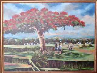 Pintura unica, Puerto Rico