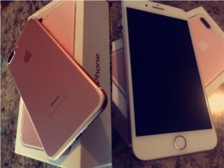 iPhone 7plus 32 gb , de claro, Puerto Rico