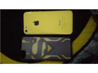 Iphone 5C Amarillo , Puerto Rico