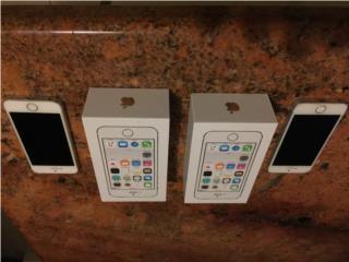 2 iPhone 5s, color blanco, 16GB, desbloqueado, Puerto Rico