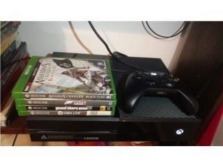 Xbox one con juegos, Puerto Rico