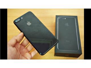 iphone 7 plus 128 jte black desbloqueado, Puerto Rico