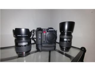 Olympus E1 + lentes 14-45 y 40-150, Puerto Rico