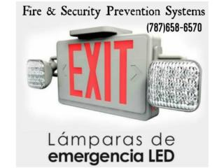 EXIT COMBO LED, Puerto Rico