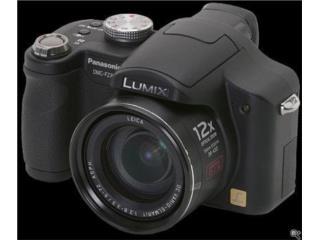 Camara Lumix Panasonic DMC ZF8 con accesorios, Puerto Rico