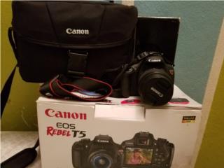 Canon EOS Rebel T5, Puerto Rico