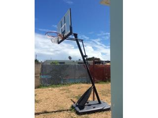 Canasto de baloncesto NBA Spalding , Puerto Rico