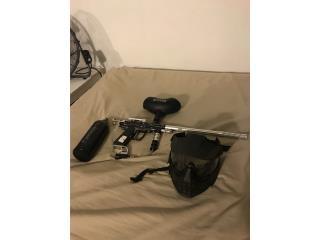 Combo pistola gotcha, Puerto Rico
