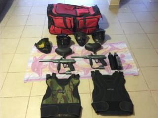 Se vende pistolas de gotcha, Puerto Rico