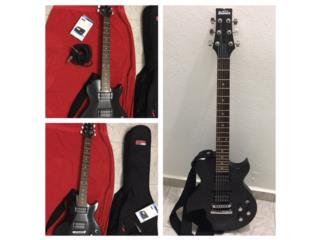 Se vende Guitarra Ibanez Elect con accesorios, Puerto Rico
