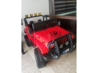 Jeep de juguete, Puerto Rico