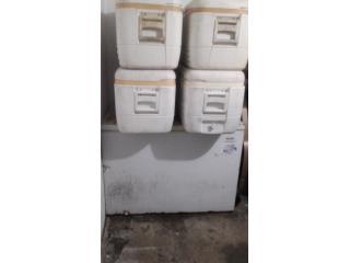 4 neveras de pesca y freezer 5 pies cubicos, Puerto Rico