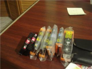 Se vende 7 cartucho de tinta xl  y de color, Puerto Rico