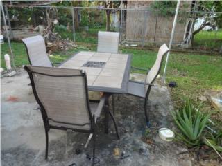 juego de patio en aluminio, Puerto Rico