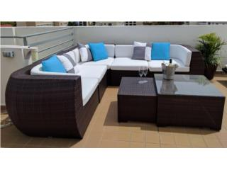 Como nuevo! set de patio: 5 piezas y 2 mesas, Puerto Rico