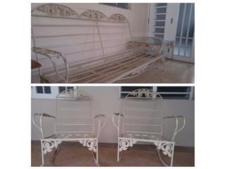 Muebles patio hierro, Puerto Rico