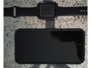 Iphone 64 gb att y apple watch 42 mm serie 1., Puerto Rico