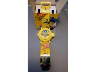 Reloj de Sponge Bob. Nuevo en su cajita, Puerto Rico