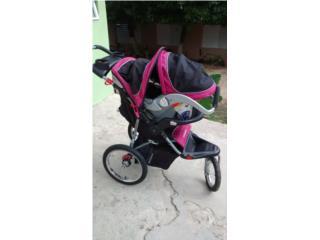 Coche con car seat y base para auto, Puerto Rico