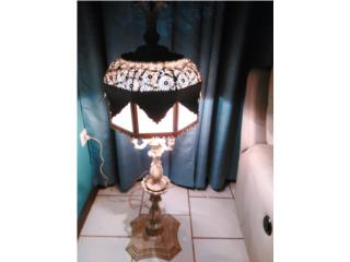 lámpara hierro, Puerto Rico