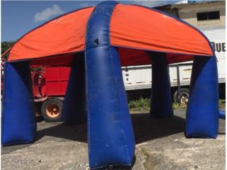 Carpa Inflable 18x18, Puerto Rico