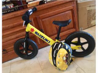 Bicicleta de entrenamiento para niños , Puerto Rico