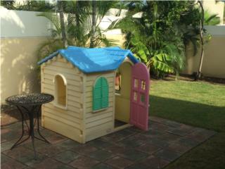 casita para niña, Puerto Rico