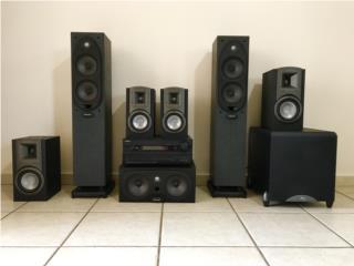 HomeTeather 7.1 Polk audio y Klipsch Onkyo , Puerto Rico
